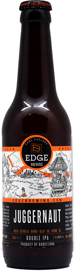 эдж брювинг джаггернаут / edge brewing jaggernaut (0,33 л.)