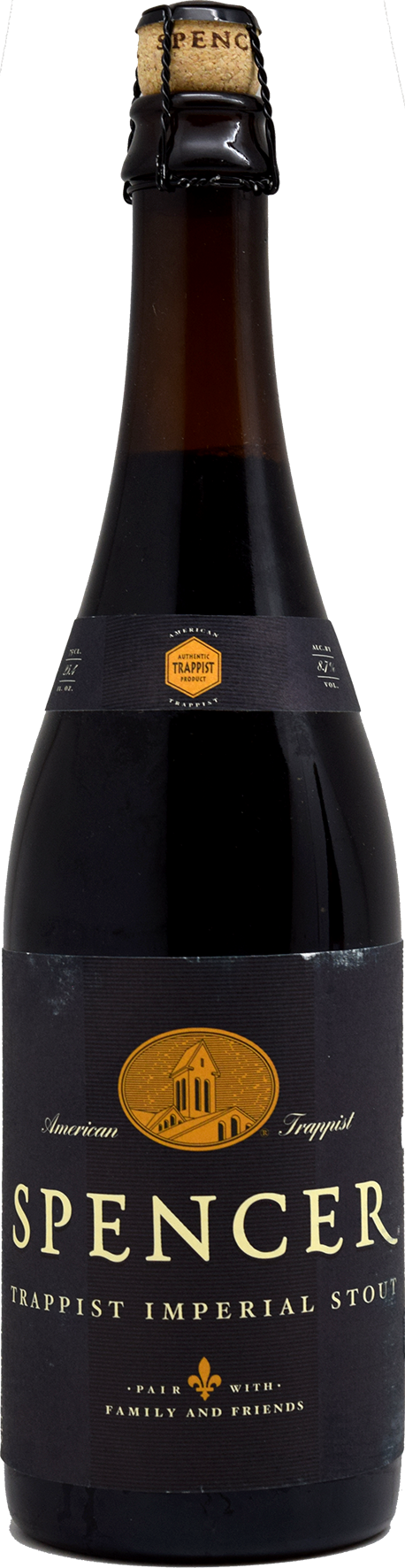 спенсер траппистский имперский стаут / spencer trappist imperial stout (0,75 л.)