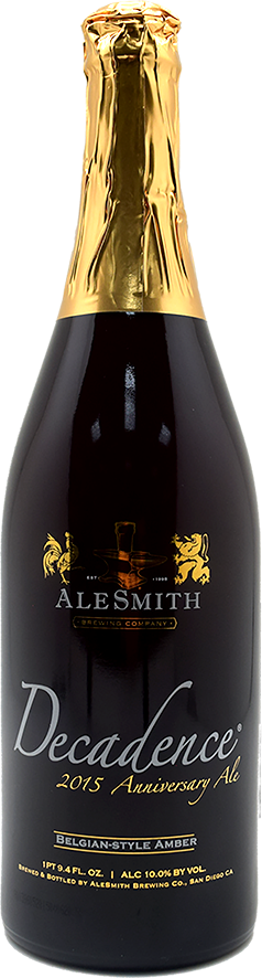 эльсмит декаденс 2015 бе-стайл амбер / alesmith decadence 2015 - be-style amber (0,75 л.)